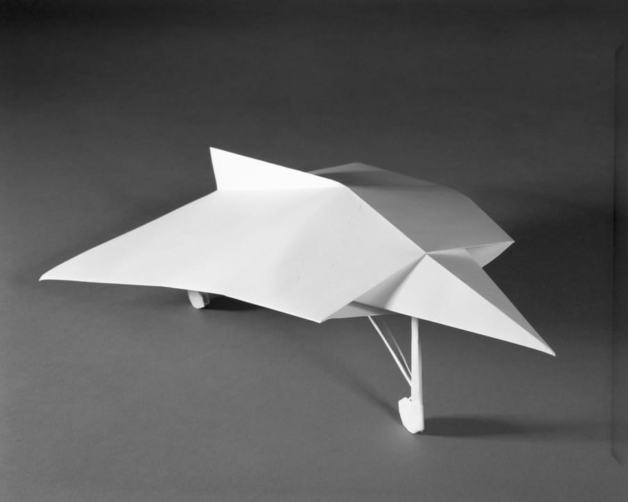 Photo of a paper plane