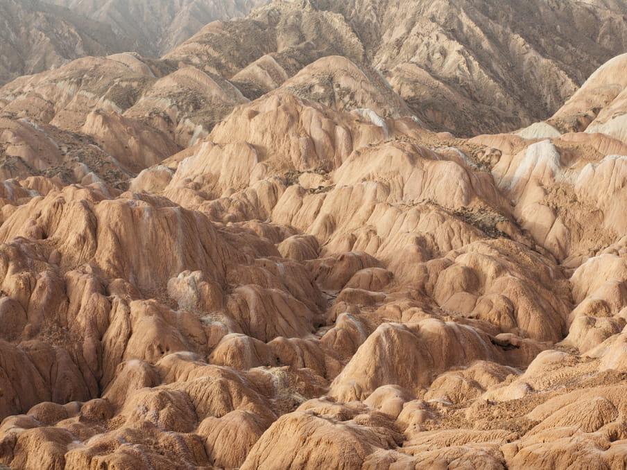 Photo of a rocky landscape
